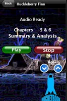 Screenshot of Audio- Huckleberry Finn