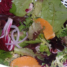 Emeril's Spinach, Orange and Candied Almond Salad