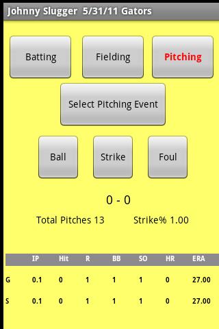 Baseball Stats Tracker 2.0