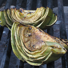 Very Good Grilled Artichokes