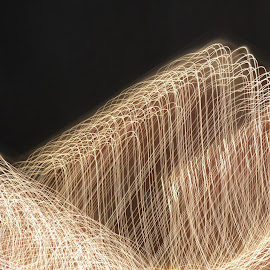 light movement Mountains by Esther Lane - Abstract Light Painting ( black background, mountains, movement, light,  )