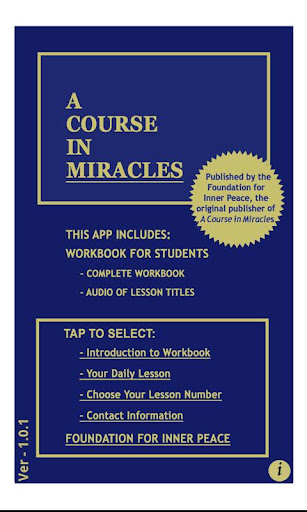 A Course in Miracles: Workbook