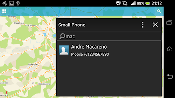Screenshot of Small Phone