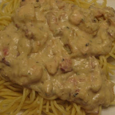 Chicken Bacon Alfredo Sauce