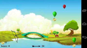 Screenshot of Balloon Bow & Arrow