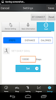 Screenshot of itek Activity Tracker