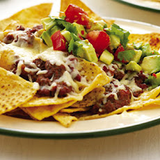 Nachos With Fresh Avocado Salsa
