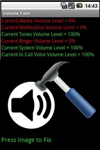 Volume Fixer