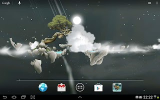 Screenshot of Sky Islands free LWP