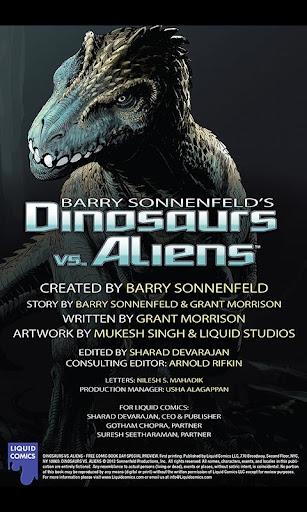 【免費漫畫App】Dinosaurs vs Aliens FCBD-APP點子