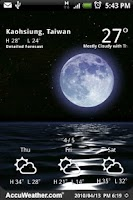 Screenshot of 9s-Weather Theme+(Nature) Free
