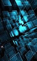 Screenshot of Matrix 3D Cubes 3 Trial LWP