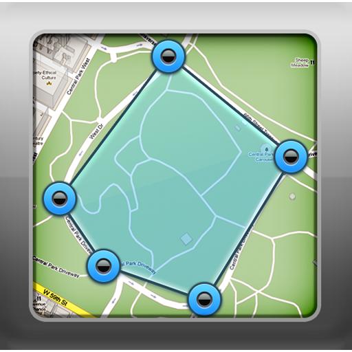 土地測量 - 面積・距離の測量・計算・計測 工具 App LOGO-APP開箱王