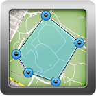 Geo Measure GPS Area Distance icon