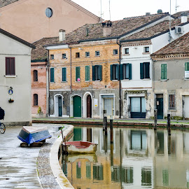 In Comacchio by Alberto Schiavo - City,  Street & Park  Street Scenes