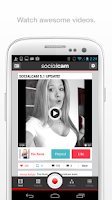 Screenshot of Socialcam
