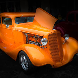 ORANGE COUPE by Frank Sr. - Transportation Automobiles ( car, orange, coupe, hotrod )
