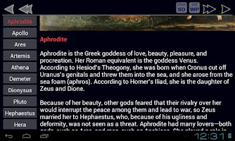Screenshot of Greek Mythology Immortals