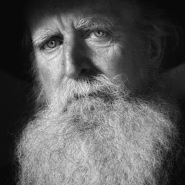 In the steps of DaVinci by Glynn Lavender - People Portraits of Men ( portraiture, face, portraits, portrait, man,  )