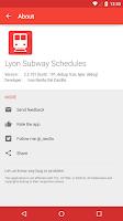 Screenshot of Lyon Transport Live Schedules