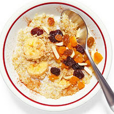 Overnight Fruit & Flax Quinoa Hot Cereal