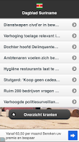 Screenshot of Suriname Nieuws Free