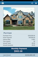 Screenshot of Mortgage Calculator by QL