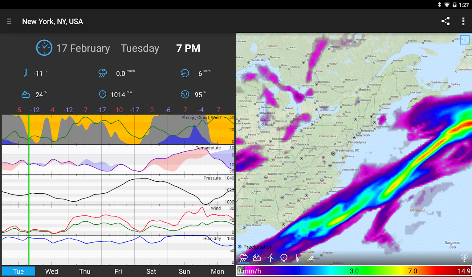 WeatherBomb Screenshot 8