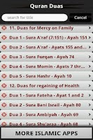 Screenshot of Quran Duas (Islam)