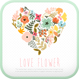 Love Flower go launcher theme.apk 1.2
