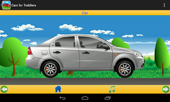 Screenshot of Cars for Toddlers