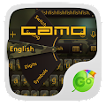 Download Camo Emoji GO Keyboard Theme APK to PC