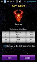 Screenshot of Horoscope Today
