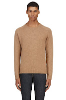 Valentino Tan Camel Hair Classic Sweater