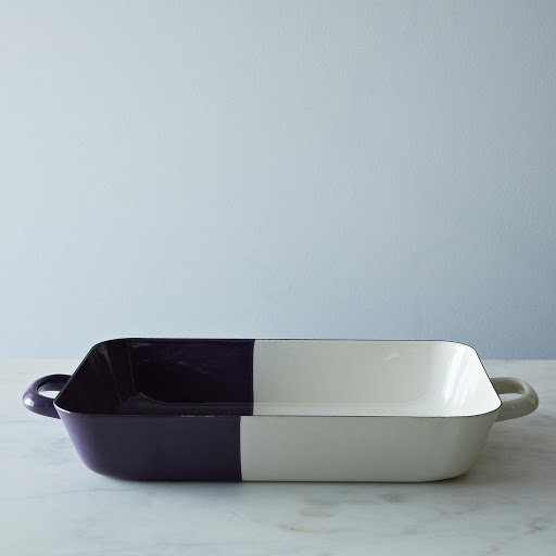 Rectangular Enamel Baking Dish