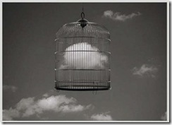 Cloud inside a cage