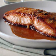 Salmon with Sweet-and-Sour Pan Sauce