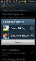 Screenshot of Galaxy S4 HD Livewallpaper