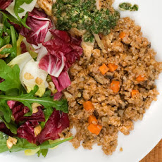 Mushroom and Carrot Bulgur