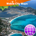 St Maarten/St Martin Map icon