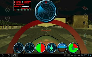 Screenshot of F15 Flying Battle FREE