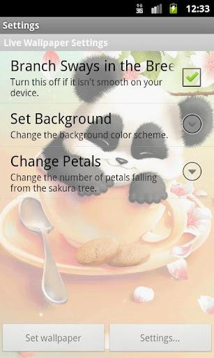 玩個人化App 瞌睡熊貓即時壁紙免費 APP試玩