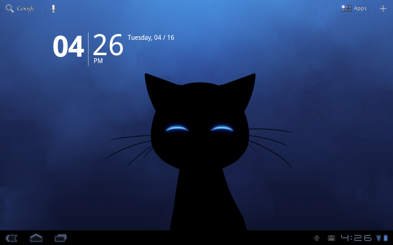 Stalker Cat Live Wallpaper Lt Screenshot 5