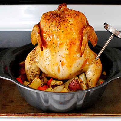 Bundt Pan Roasted Chicken & Vegetables