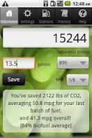Screenshot of Biodiesel Buddy
