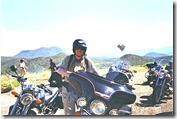 Pause près de Apache Leap Arizona