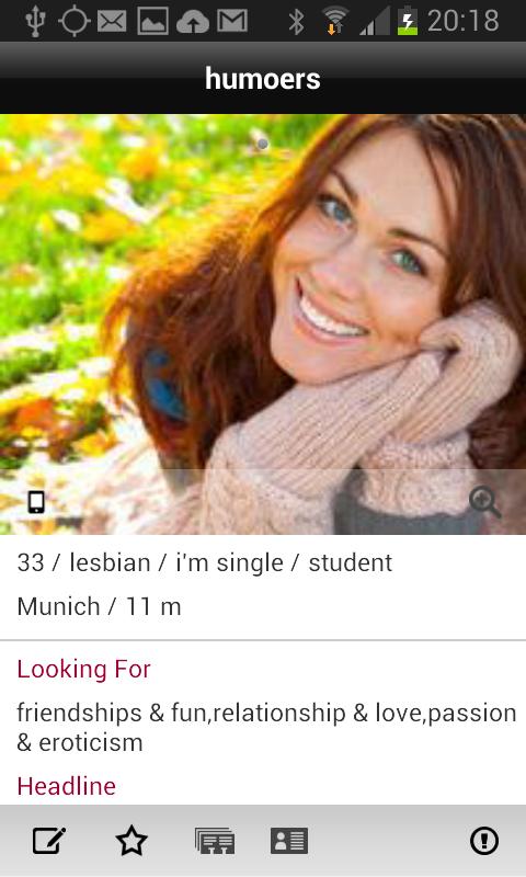 Lesarion - lesbian dating - Исследование рынка мобильных приложений Android