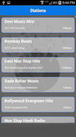 Screenshot of Desi Radio - Indian Stations