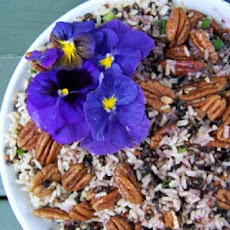 Southern Red Rice and Pecan Salad