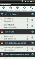 Screenshot of Football Live Scores